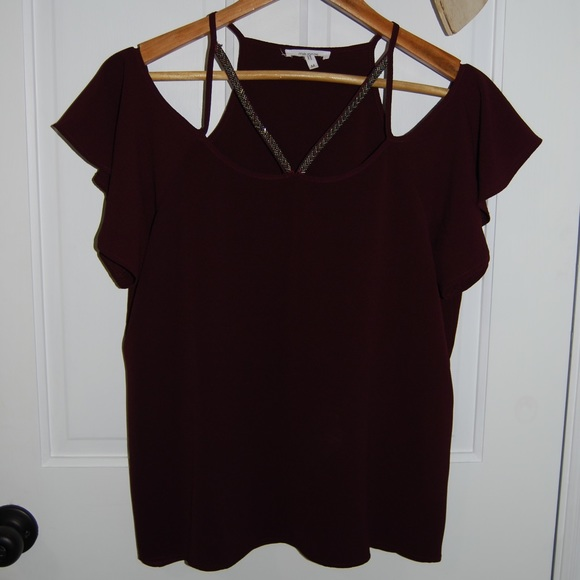 Maurices Tops - Maurices Red Wine coloured top 🍷
